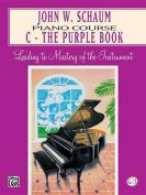 Piano Course C Book (Purple)
