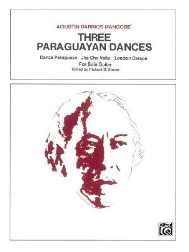 Three Paraguayan Dances: Sheet.