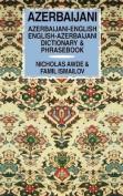 Azerbaijani-English, English-Azerbaijani Dictionary and Phrasebook