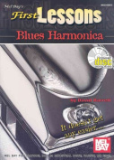 First Lessons Blues Harmonica [With CD]