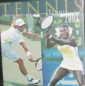 Tennis 2001 Calendar