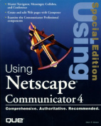 Using Netscape 4  [Special Edition]