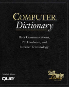Computer Press Dictionary