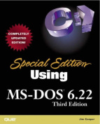 Special Edition Using MS-DOS 6.22