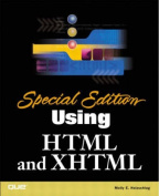 Using HTML and XHTML [Special Edition]