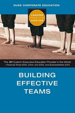Building Effective Teams (Leading from the Centre S.)