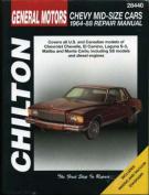 GM Chevrolet Mid Size 1964-88 Repair Manual