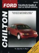 Ford Taurus/Mercury Sable 1986-1995 Repair Manual