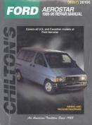 Ford Aerostar 1986-96 Repair Manual