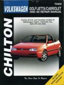 Volkswagen Golf/Jetta/Cabriolet (1990-1999)