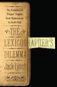The Lexicographer's Dilemma