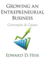 Growing an Entrepreneurial Business