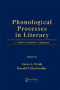 Phonological Processes in Literacy