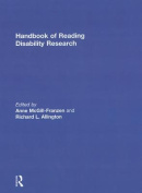 Handbook of Reading Disability Research