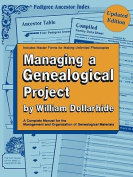 Managing a Genealogical Project