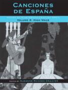 Canciones de Espana