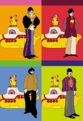 Yellow Submarine Notepad 4-Pack