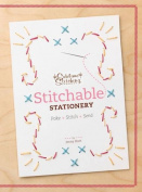 Stitchable Stationery