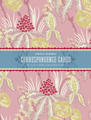 French General Correspondence Cards by Kaari Meng.