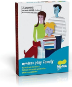 Modern Play Family [With 150+ Reusable Vinyl Clothing Accessories and 9 Punch-Out Figures]