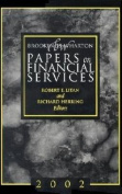 Brookings-Wharton Papers on Financial Services