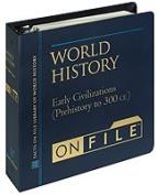 World History on File& #153; , Volume 1