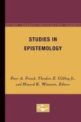 Studies in Epistemology V 5 Pb