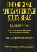 Original African Heritage Study Bible-KJV [Large Print]