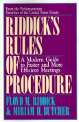 Riddick's Rules of Procedure