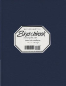 Wg Sketchbook Lizard Cover 8.25 X 11 Navy Blue