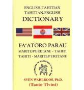 English-Tahitian, Tahitian-English Dictionary