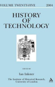 History of Technology, Volume 25