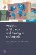 Analysis of Strategy and Strategies of Analysis