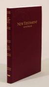 Bible Kjv Keystone L/P NT & Psalms Burg