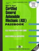 Certified General Automobile Mechanic