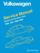 Volkswagen Beetle and Karmann Ghia Official Service Manual Type 1