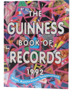 Gness Bk of Records 1992 (Fs) Guinness