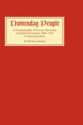 Domesday People: A Prosopography of Persons Occurring in English Documents, 1066-1166