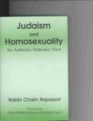 Judaism and Homosexuality