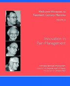 Innovation in Pain Management