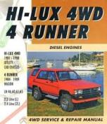 Toyota Hi-Lux 4wd 4 Runner Diesel