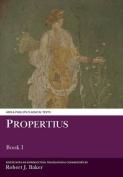 Propertius I