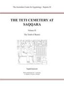 The Teti Cemetery at Saqqara