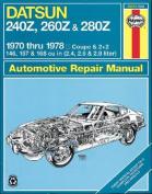 Datsun 240Z/260Z Owner's Workshop Manual