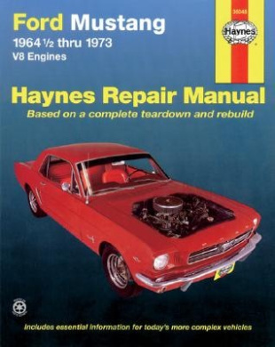 Ford Mustang V8 Owner's Workshop Manual (USA service & repair manuals)