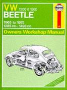 Volkswagen Beetle 1300/1500 Owner's Workshop Manual