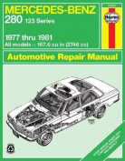 Mercedes Benz 280 (Series 123) 1977-1981 Owner's Workshop Manual