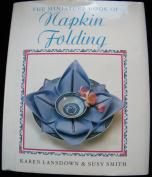 Miniature Book of Napkin Folding