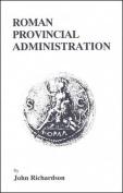 Roman Provincial Administration