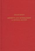 "Edmund Spenser's ""Amoretti and Epithalamion"""